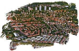 Luftbild über Büchenbach-Nord